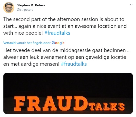 FRAUDtalks